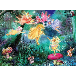 100 PC FOREST FAIRIES PUZZLES