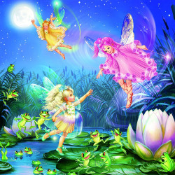 100 PC FOREST FAIRIES PUZZLES2