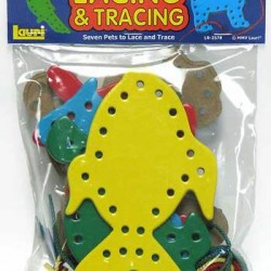 LACING & TRACING BOARDS 7 LACES-7 BOARDS PETS