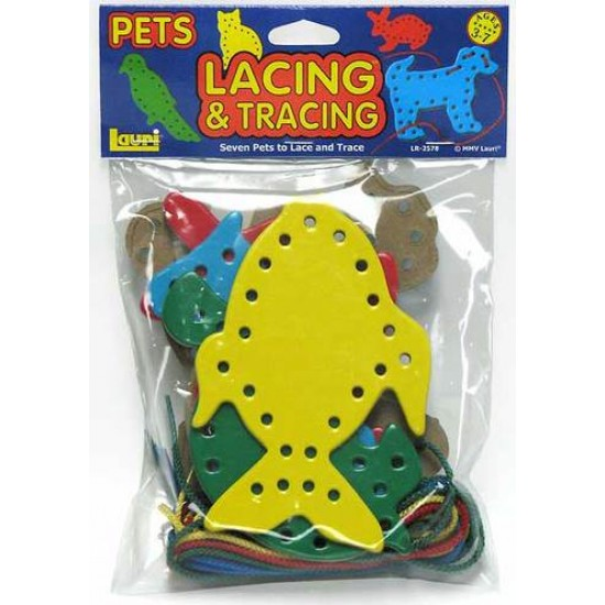 LACING & TRACING BOARDS 7LACES-7 BOARDS PETS