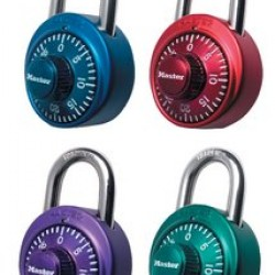 LOCK MASTER COMBINATION X-treme COLORS     #1530 DC
