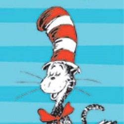 BOOKMARK 36 ct  CAT IN THE HAT™ READ EVERY DAY EUREKA