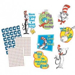 BULLETIN BOARD SET CAT IN THE HAT™ READING GOAL KIT EUREKA