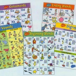 BULLETIN BOARD SET DR SUESS PHONICS