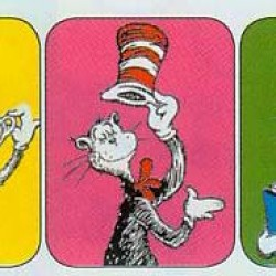 STICKERS GIANT 36 CT CAT IN THE HAT™ EUREKA