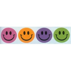 STICKERS THEMATIC 120 ct TRENDY SMILES EUREKA