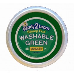 "STAMP PAD WASHABLE JUMBO 6"" CIRCULAR CE6603 GREEN"