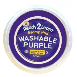"STAMP PAD WASHABLE JUMBO 6"" CIRCULAR CE6607 PURPLE"