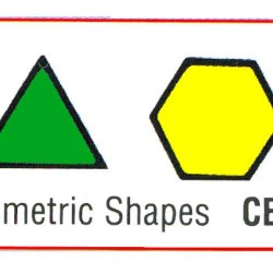 STAMP RUBBER GRADING STAMPS GEOMETRIC CE102