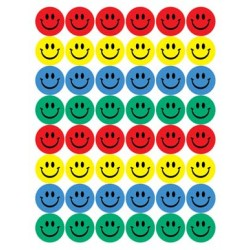 STICKERS MINI 192CT SMILE FACE EUREKA
