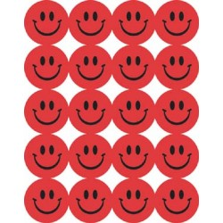 STICKERS SCENTED SMILEY FACES 80 ct. STRAWBERRY EUREKA