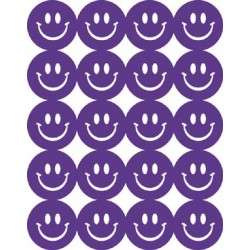 STICKERS SCENTED SMILEY FACES 80 ct. GRAPE EUREKA