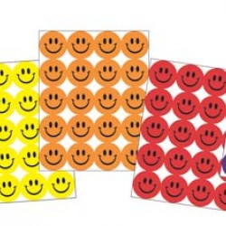 STICKERS ASSORTMENT PACK SCENTED SMILEY FACES 840 CT EUREKA
