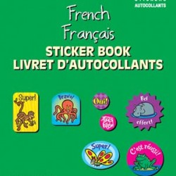 STICKER BOOK 536 ct FRENCH EUREKA
