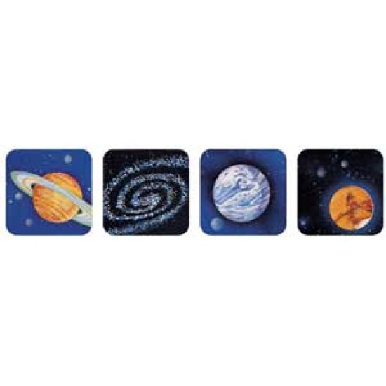 STICKERS THEMATIC 120 ct PLANETS EUREKA
