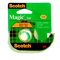 "TAPE SCOTCH MAGIC #105   3/4"" X 300"""