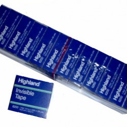 """TAPE HIGHLAND INVISIBLE BOXED REFILL 3/4"""" x 1296"""" #6200-3/4"""