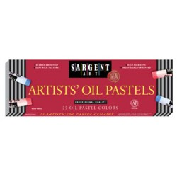 OIL PASTELS SARGENT ART REGULAR SIZE 25 ct