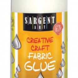 GLUE FABRIC GLUE SARGENT ART 4.08 oz