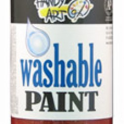 PAINT WASHABLE HANDY ART GLITTER 16 OZ ORANGE