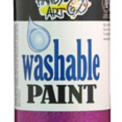 PAINT WASHABLE HANDY ART GLITTER 16 OZ MAGENTA