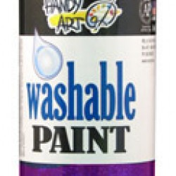 PAINT WASHABLE HANDY ART GLITTER 16 OZ VIOLET