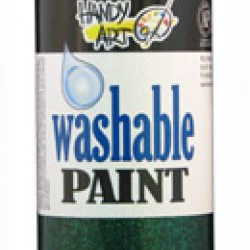 PAINT WASHABLE HANDY ART GLITTER 16 OZ GREEN