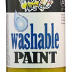 PAINT WASHABLE HANDY ART GLITTER 16 OZ YELLOW