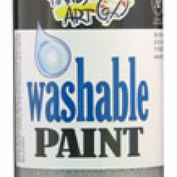 PAINT WASHABLE HANDY ART GLITTER 16 OZ SILVER
