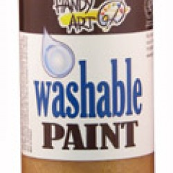 PAINT WASHABLE HANDY ART GLITTER 16 OZ GOLD