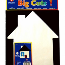 """BIG CUTS HOUSE 16"""" 60# WHITE SULPHITE DRAWING 25 COUNT"""