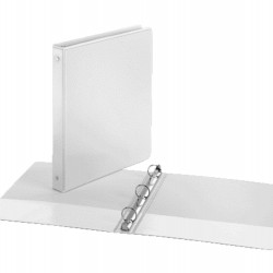 "BINDER VIEW COVER  1"" Economy ClearVue™  WHITE"
