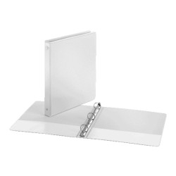 """BINDER VIEW COVER  1"""" Economy ClearVue™  WHITE"""