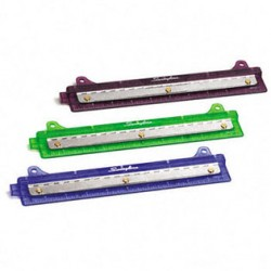HOLE PUNCH 3 HOLE FOR BINDER SWINGLINE  TRANSLUCENT