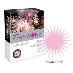 COPY PAPER COLOR FIREWORX 8.5 X 11 20# POWDER PINK