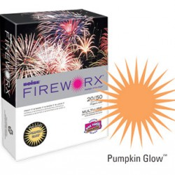 COPY PAPER COLOR FIREWORX 8.5 X 11 20# PUMPKIN GLOW