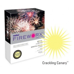 COPY PAPER COLOR FIREWORX 8.5 X 11 20# CRACKLING CANARY