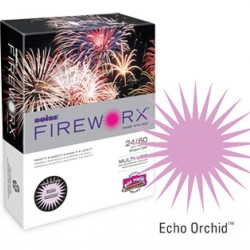 COPY PAPER COLOR FIREWORX 8.5 X 11 20# ECHO ORCHID