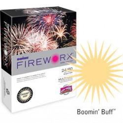 COPY PAPER COLOR FIREWORX 8.5 X 11 20# BOOMIN BUFF