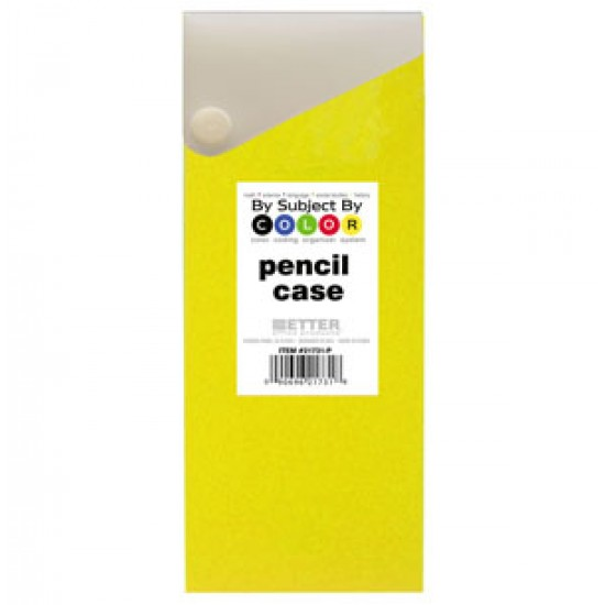 PENCIL CASE SLIDER WITH SNAP CLOSURE PRIMARY
