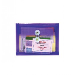 ENVELOPE POLY STRING REUSABLE SIDE LOAD COUPON SIZE