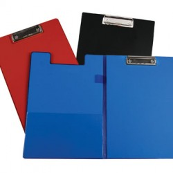 CLIPBOARD FOLDER LOW PROFILE CLIP VINYL C-LINE