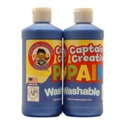 PAINT WASHABLE CAPTAIN CREATIVE 16 oz BLUE