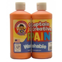 PAINT WASHABLE CAPTAIN CREATIVE 16 oz ORANGE
