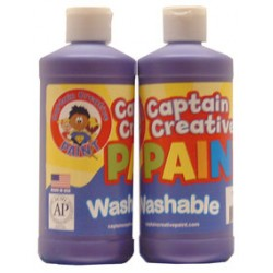 PAINT WASHABLE CAPTAIN CREATIVE 16 oz VIOLET