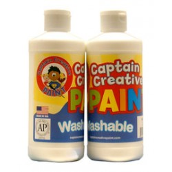 PAINT WASHABLE CAPTAIN CREATIVE 16 oz WHITE
