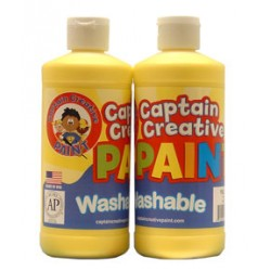 PAINT WASHABLE CAPTAIN CREATIVE 16 oz YELLOW