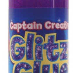 GLITTER GLUE GLITZY GLUE CAPTAIN CREATIVE 4oz. Purple