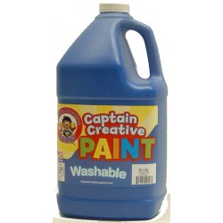 PAINT WASHABLE CAPTAIN CREATIVE Gallon Blue