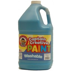 PAINT WASHABLE CAPTAIN CREATIVE Gallon Turquoise